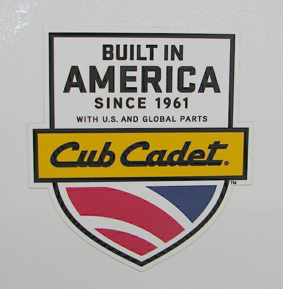 International Harvester IH 50th anniversary gear Cub Cadet CubCadet