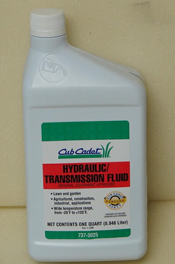 Cub Cadet Hytran Hy-Tran Transmission fluid MMO Maravel Mystry Oil